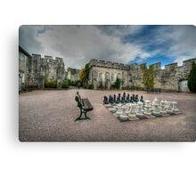 Courtyard of Bodelwyddan Castle Canvas Print