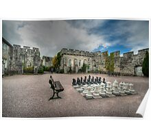 Courtyard of Bodelwyddan Castle Poster