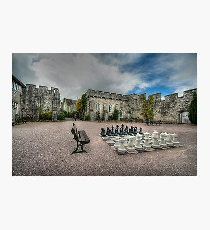 Courtyard of Bodelwyddan Castle Photographic Print