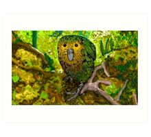 Get out of my jungle! Art Print