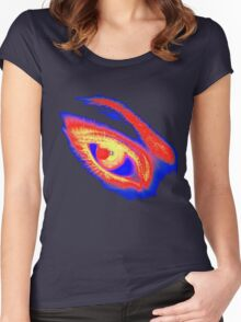 Eye3 Women's Fitted Scoop T-Shirt