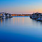 Sunset over the Marina by camfischer