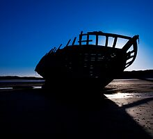 Shipwreck, Bunbeag Co. Donegal by Stephen Lawlor