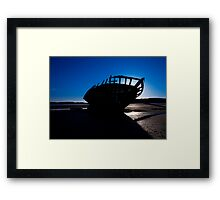 Shipwreck, Bunbeag Co. Donegal Framed Print