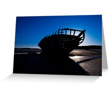 Shipwreck, Bunbeag Co. Donegal Greeting Card