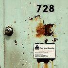 Door To Dave Matthews Band Recording Studio by SuddenJim