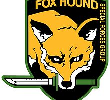 Fox Hound logo (high resolution) by gallo177