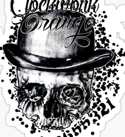 clockwork skull Sticker