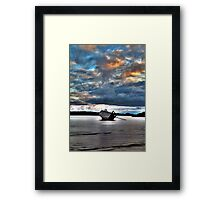 Eddies' Boat Framed Print