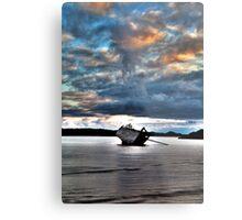 Eddies' Boat Metal Print