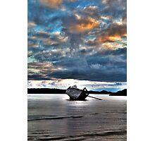 Eddies' Boat Photographic Print