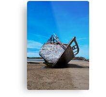 Shipwreck 3, Bunbeag Co. Donegal Metal Print