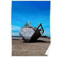 Shipwreck 3, Bunbeag Co. Donegal Poster