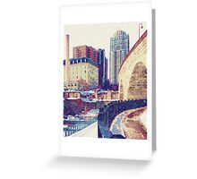 Stone Arch-Minneapolis Greeting Card