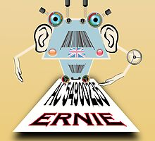 Ernie, Premium bonds computer Cartoon by Grant Wilson