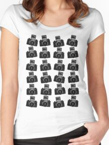 24 Cameras Women's Fitted Scoop T-Shirt