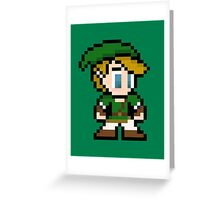 8-Bit Link Greeting Card