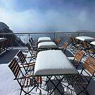 Snow on Pilatus by alokojha