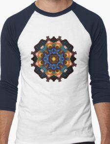 Fractal Art May Mandala Men's Baseball ¾ T-Shirt