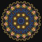 May Circle Mandala Fractal Art by webgrrl