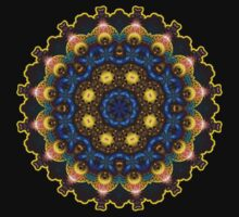 May Circle Mandala Fractal Art by webgrrl
