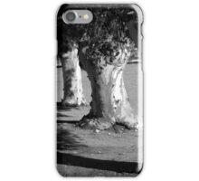 Scary Trees: Copsed Gums, Sedan. iPhone Case/Skin