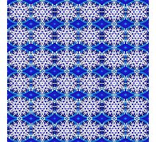 Tracery of Snow Flakes - 2 Photographic Print