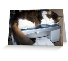 How To Use a Printer Greeting Card