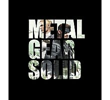 Metal Gear Solid Snake Eater (3) Photographic Print