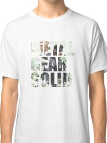 Metal Gear Solid Snake Eater (3) Classic T-Shirt