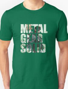 Metal Gear Solid Snake Eater (3) T-Shirt