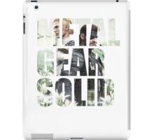 Metal Gear Solid Snake Eater (3) iPad Case/Skin