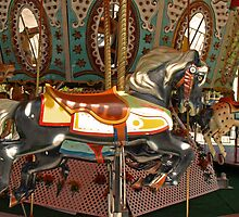 The Carrousel Horse by Lee d'Entremont