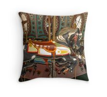 The Carrousel Horse Throw Pillow