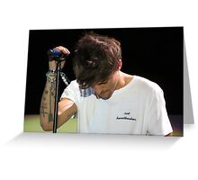 Louis Tomlinson - Tattoos Greeting Card