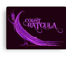 Count Batcula Canvas Print