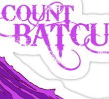 Count Batcula Sticker