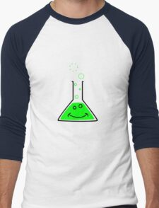 Bubbling beaker Men's Baseball ¾ T-Shirt