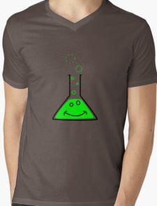 Bubbling beaker Mens V-Neck T-Shirt