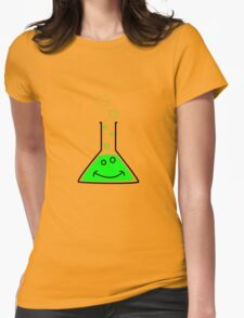 Bubbling beaker Womens T-Shirt