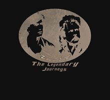 Rowsdower:  Zap And Troy the Legendary Journeys Tee (sepia version) Unisex T-Shirt