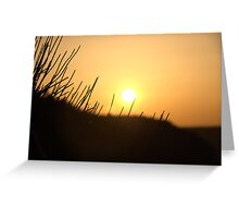 Sunset over the Grand Canyon Greeting Card