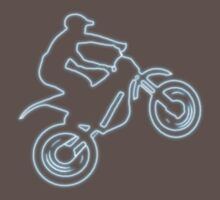 Motocross t-shirt (Neon Logo) by Spartiatis75