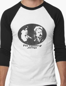 Rowsdower:  Zap And Troy the Legendary Journeys Tee (b&w version) Men's Baseball ¾ T-Shirt