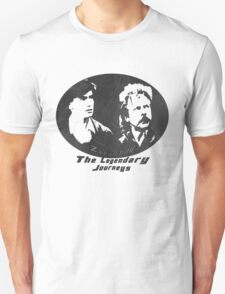 Rowsdower:  Zap And Troy the Legendary Journeys Tee (b&w version) Unisex T-Shirt