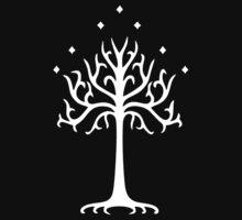 White Tree of Gondor Hoodie by hidayah4ll0h