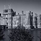 Herstmonceux Castle B&W by Dean Messenger