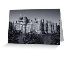 Herstmonceux Castle B&W Greeting Card