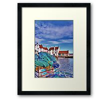 The Gyles at Pittenweem Framed Print