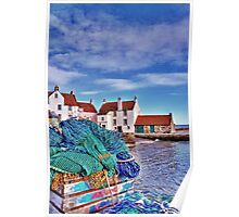The Gyles at Pittenweem Poster